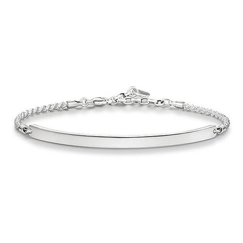 "Náramek ""Klasický"" Thomas Sabo LBA0008-001-12-L18v, Love Bridge, 925 Sterling silver"