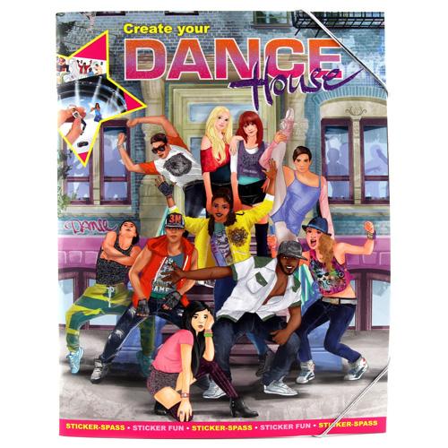Kreativní sešit Create Your Dance House