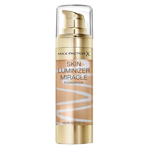 Rozjasňující make-up Max Factor Odstín 45 Warm Almond, Skin Luminizer, 30 ml