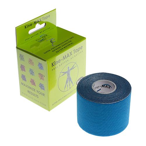 Kinemax Kinesiologický tejp Kine-MAX Super-Pro rayon | Modrá | 5 cm x 5 m
