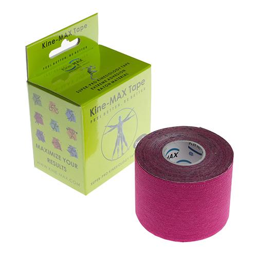 Kinemax Kinesiologický tejp Kine-MAX Super-Pro rayon | Růžová | 5 cm x 5 m