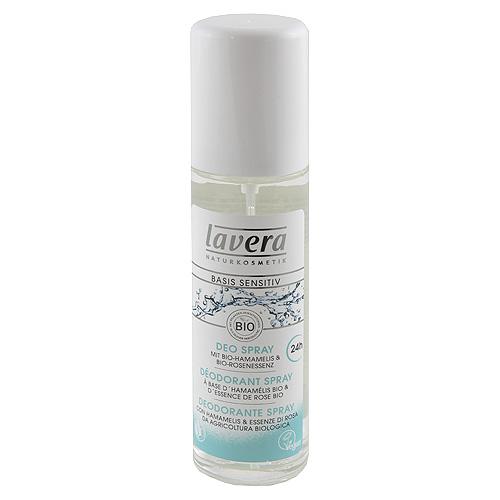 Fotografie Deodorant ve spreji Lavera Deodorant ve spreji Basics Sensitive 75 ml