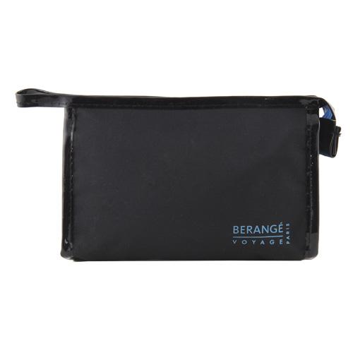 Kosmetická taška Berangé Voyage černo-tyrkysová