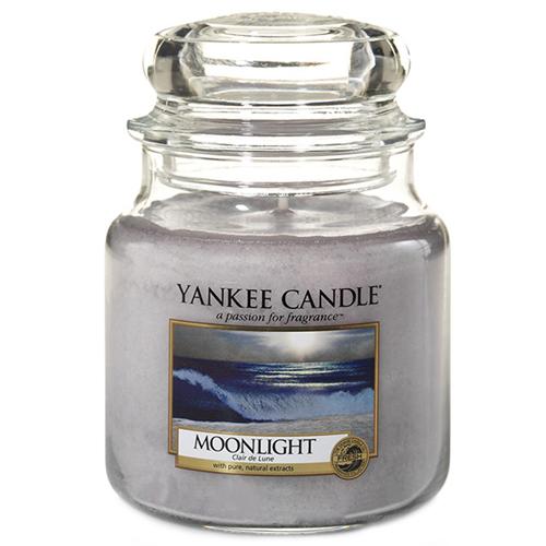 Svíčka ve skleněné dóze Yankee Candle Měsíční svit, 410 g