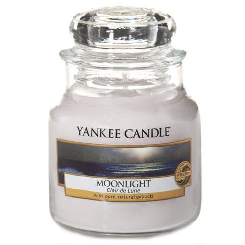 Svíčka ve skleněné dóze Yankee Candle Měsíční svit, 104 g