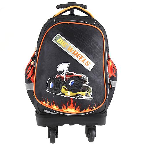 Školní batoh trolley Target Big Wheels, barva černá
