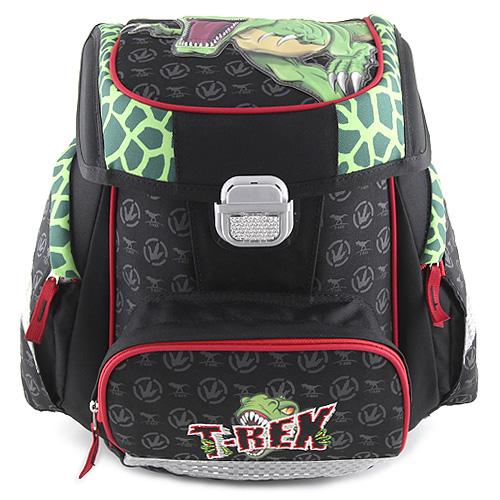 Školní aktovka Target T-Rex, barva černá