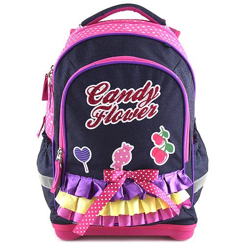 Školní batoh Target 3D Candy Flover, barva fialová