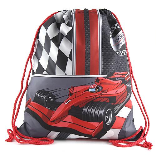 Sportovní vak Target Formule, barva černo-červená