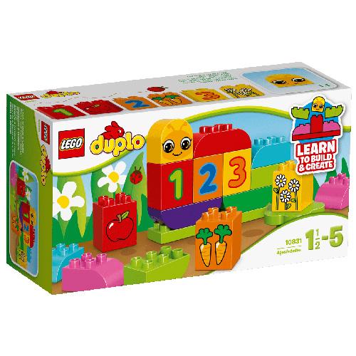 Stavebnice LEGO Duplo Moje první housenka, 19 dílků