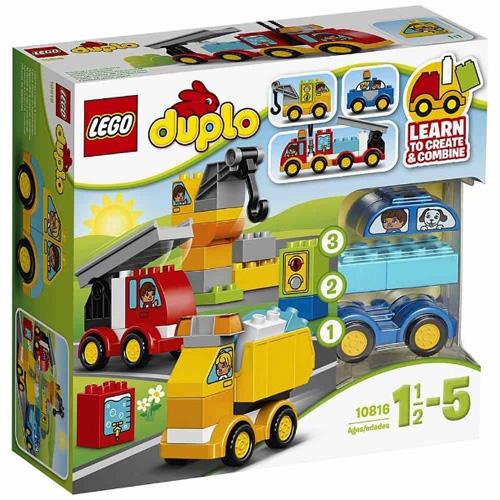 Stavebnice LEGO Duplo Moje první autíčka a náklaďáky, 36 dílků