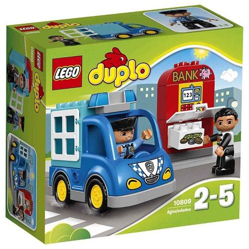 Stavebnice LEGO Duplo Policejní hlídka, 15 dílků
