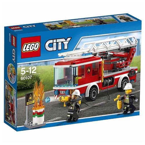 Fotografie LEGO City Hasičské auto s žebříkem