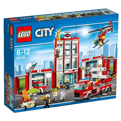 Stavebnice LEGO City Hasičská stanice, 919 dílků