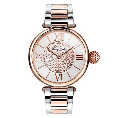 Dámské hodinky Thomas Sabo WA0257-277-201-38 mm, Watches, stainless steel rose gold-col