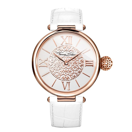 Dámské hodinky Thomas Sabo WA0256-269-202-38 mm, Watches, stainless steel rose gold-col