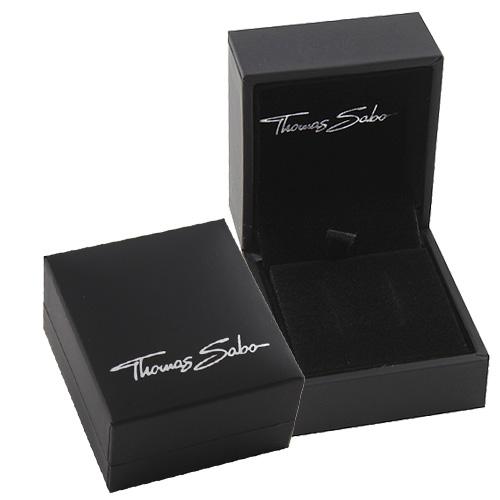 Thomas Sabo POS   Packing   BOX117_BL 48 x 53 x 37 mm - dárková krabička pro náušnice, barva černá