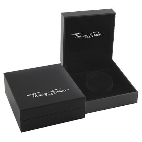 Thomas Sabo POS   Packing   BOX107 99 x 98 x 40 mm - dárková krbička pro náramek, černá