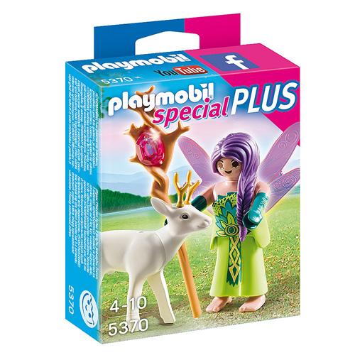Víla s kouzelným srncem Playmobil Víly a jednorožci, 5 dílků
