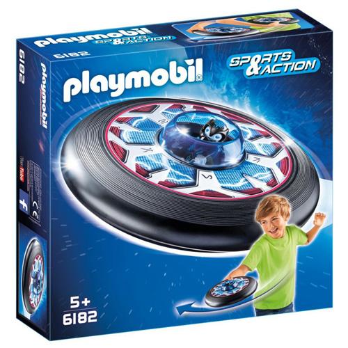 Super létající talíř Playmobil mimozemšťan a talíř, 5 dílků
