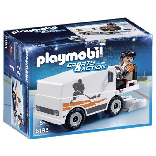 Rolba na úpravu ledu Playmobil 1 panáček a rolba, 22 dílků
