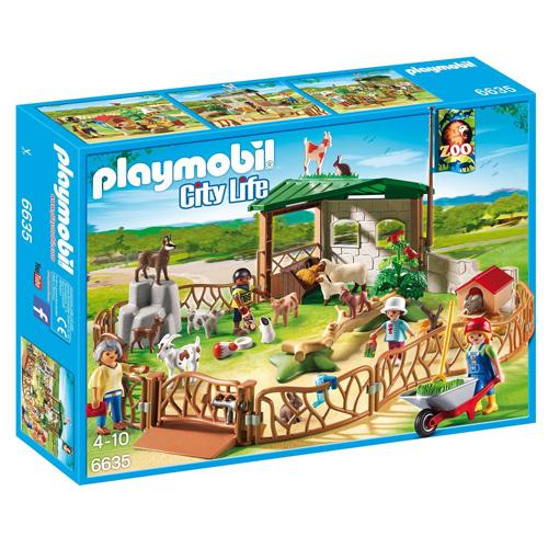 Koutek domácích zvířat Playmobil 4 panáčci se zvířátky, 74 dílků