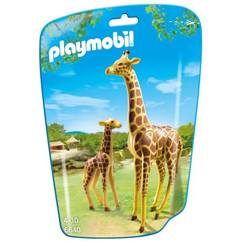 Žirafa s mládětem Playmobil 2 figurky