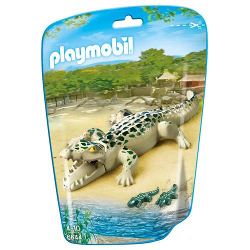 Krokodýl s mláďaty Playmobil 3 figurky