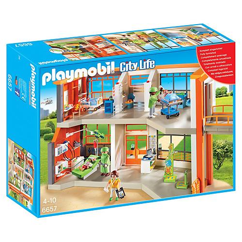Dětská nemocnice s přístroji Playmobil Život ve městě, 291 dílků
