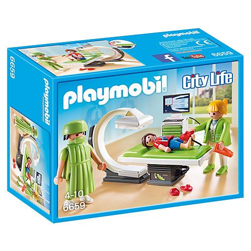 Rentgen Playmobil Život ve městě, 32 dílků