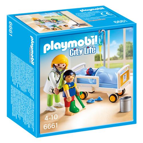 Dětská lékařka s pacientem Playmobil Život ve městě, 26 dílků