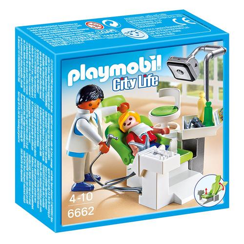 Zubař Playmobil Život ve městě, 26 dílků