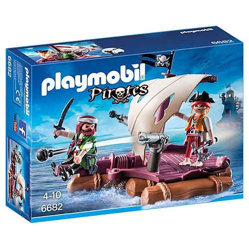 Pirátský vor Playmobil Piráti, 26 dílků