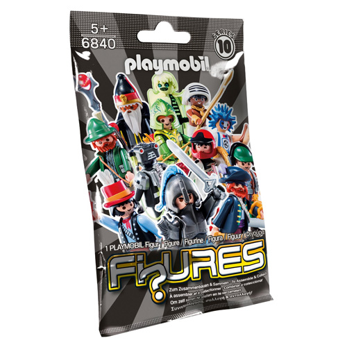 Překvapení pro kluky Playmobil Fi?ures Série 10 - kompletní panáček