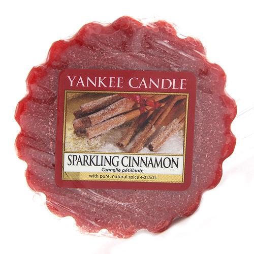 Vonný vosk Yankee Candle Jiskřivá skořice, 22 g