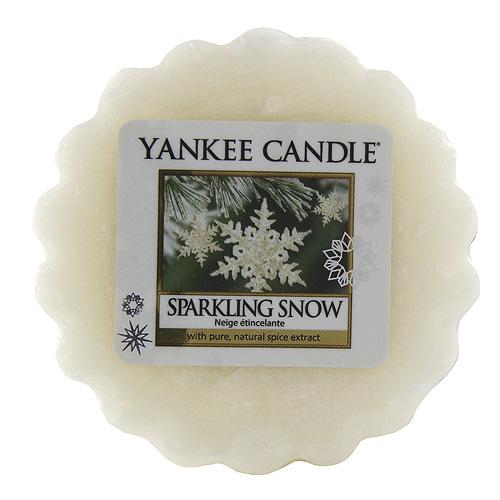 Vonný vosk Yankee Candle Jiskřívý sníh, 22 g
