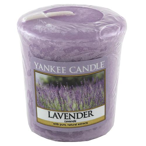 Svíčka Yankee Candle Levandule, 49 g