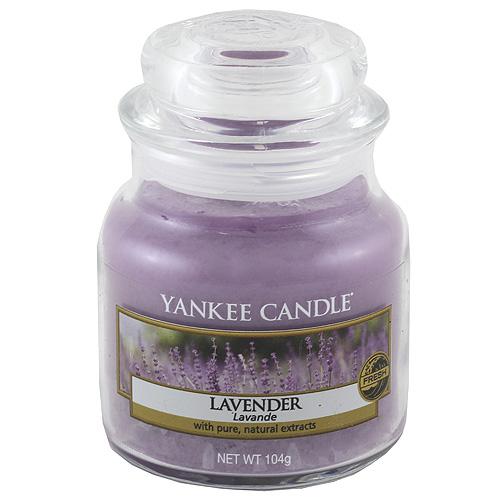 Svíčka ve skleněné dóze Yankee Candle Levandule, 104 g