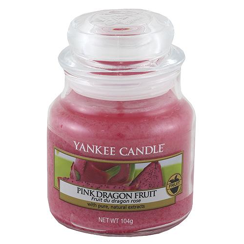 Svíčka ve skleněné dóze Yankee Candle Růžový Dračí plod, 104 g