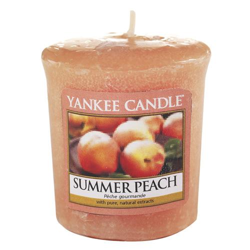 Svíčka Yankee Candle Letní broskev, 49 g