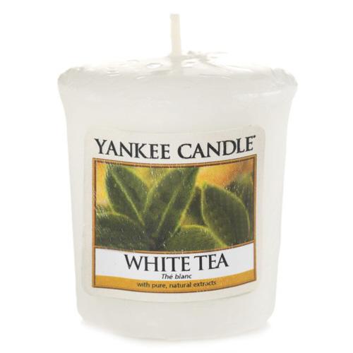 Svíčka Yankee Candle Bílý čaj, 49 g