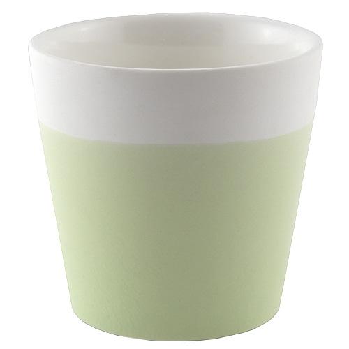 Svícen Yankee Candle Keramický, pastelová zelená, na votivní svíčku