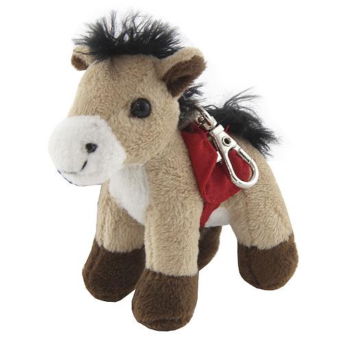 Klíčenka Horses Dreams Červené sedlo, plyšová