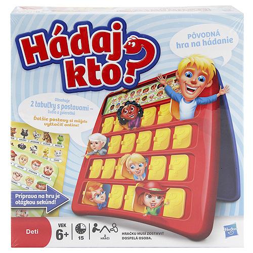 Stolní hra Hasbro Hádej kdo? SK