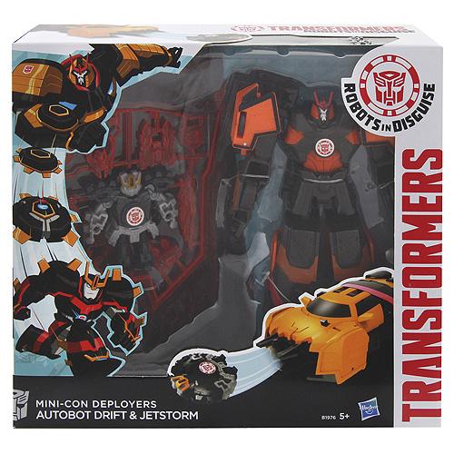 Transformers Souboj Mini-Conů Hasbro Autobot Drift & Jetstorm