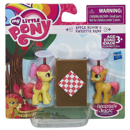 My Little Pony Hasbro Apple Bloom a Sweetie Babs