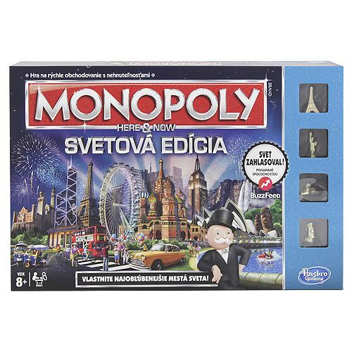 Monopoly Hasbro Světová edice SK