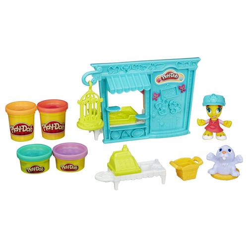 Set Play-Doh Hasbro Obchod se zvířátky, 168 g