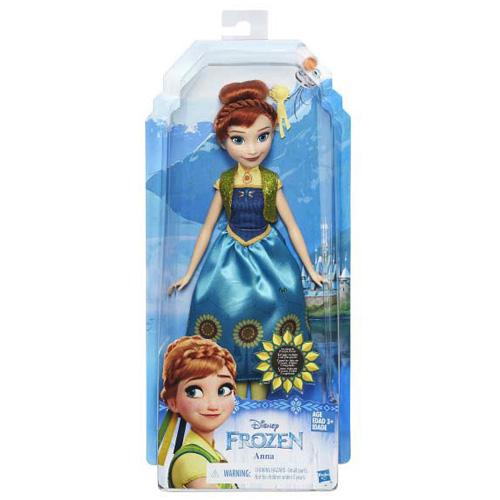 Hasbro Panenka Disney Mattel Módní panenka - princezna Anna