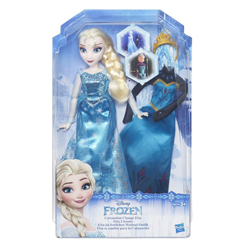 Hasbro Panenka Disney Mattel Elsa - princezna Frozen